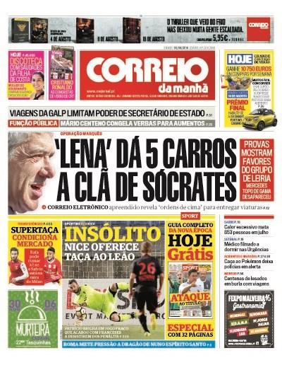 CM capa Clã Sócrates