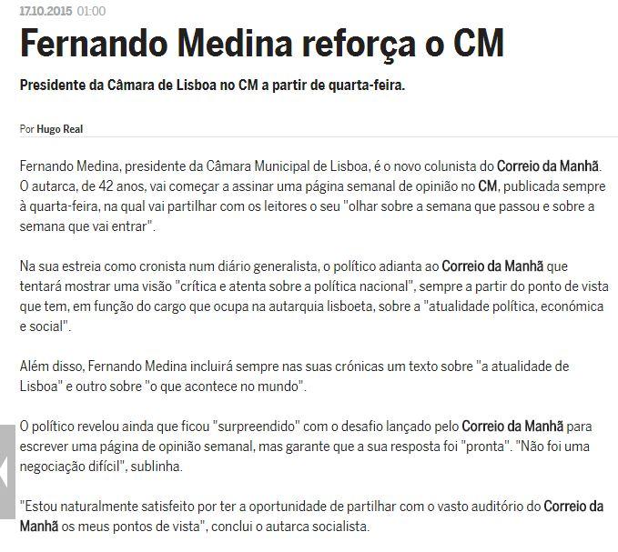 Fernando Medina - CM