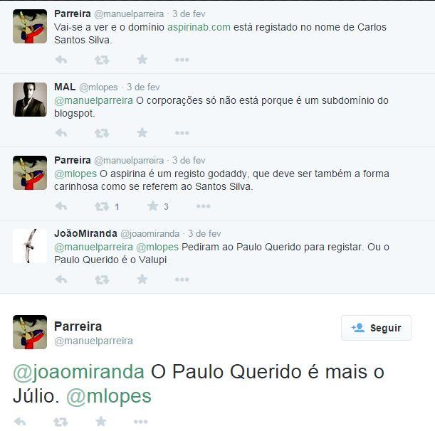 Paulo Querido é mais o Júlio